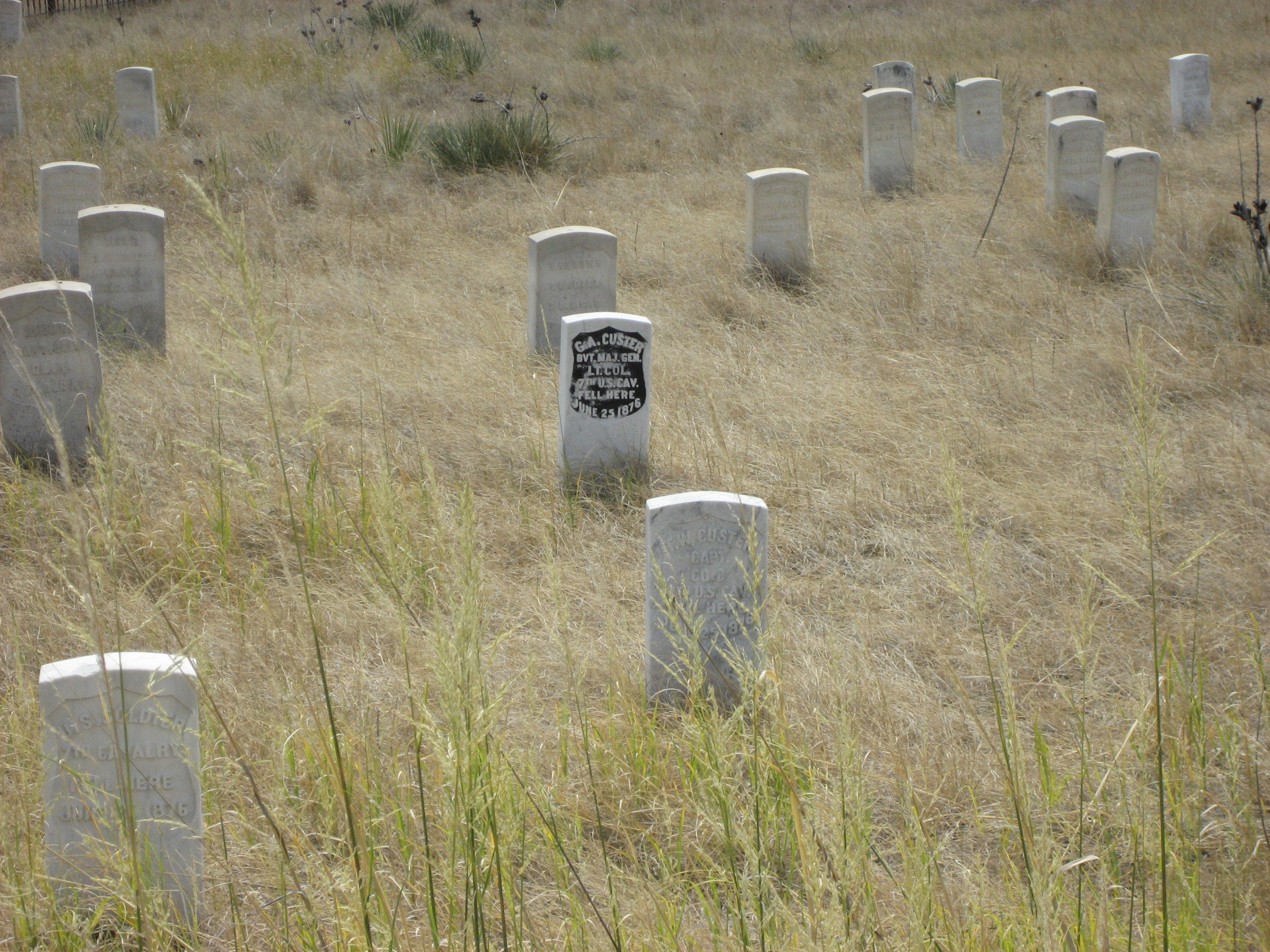 Custer Grave